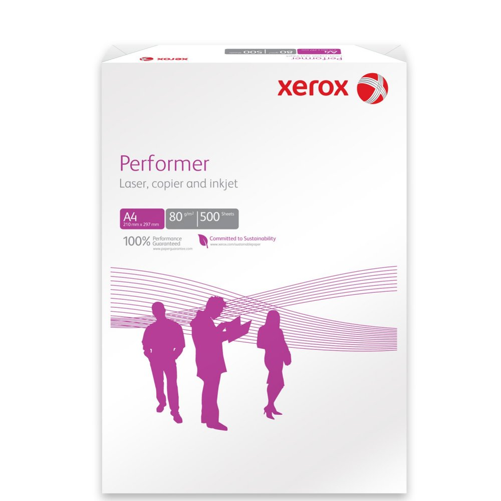 Xerox Paper A4 80gsm White - Performer 500 Sheets