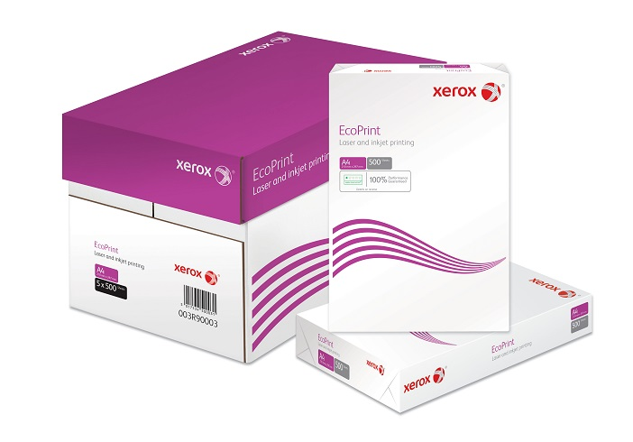 Xerox Printer Paper A4 80gsm - White 500 Sheets Eco Print