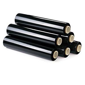 Pallet Wrap 500mm x 200m 23 Micron - Flush Core Black - Price per Roll