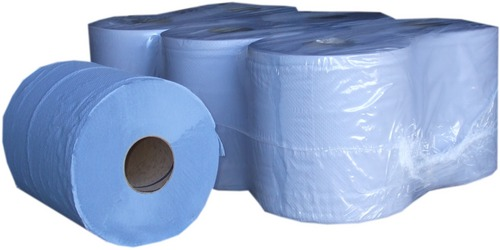 Blue Centrefeed Rolls - Pack of 6 Rolls - On Special Today