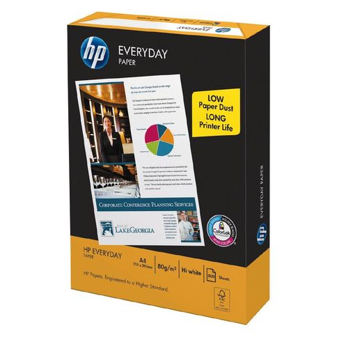 Hewlett Packard Paper A4 - 80gsm Everyday