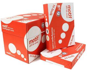 Motif A4 Paper 80gsm - 500 Sheets per Ream