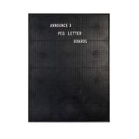 Announce Peg Letter Board 463 x 615mm