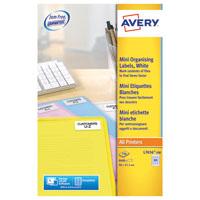 Avery Laser Mini Labels Wht Pk8400