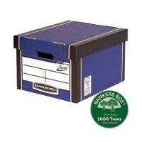 Fellowes Premium Presto Blue Storage Box