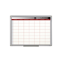 Bi-Office Magnetic 90x60cm Week Planner