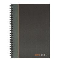 Collins Ideal Ruled Wbound Notebook A4