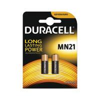 Duracell 12V MN21 Car Alarm Battery Pk2