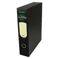 Rexel Classic Box File A4 Black Pk5
