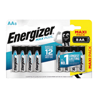 Energizer Max Plus AA Batteries Pk8