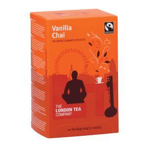 London Tea Vanilla Chai Tea Pk20