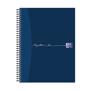 Oxford Card Notebook 160 A4 Plus Pk3