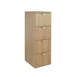 FF Avior Ash 4 Drw Filing Cabinet