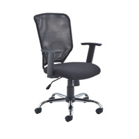 FR FIRST MESH TASK CHAIR BLACK