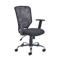 FR First Mesh Task Chair Black