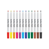 Graffico Broad Pen Assorted PK36