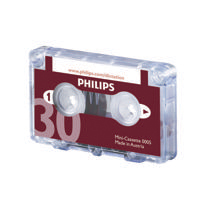 Philips Dictation 30min Cassette Pk10