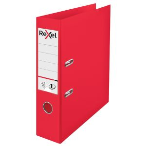 Rexel Choices 75mmA4 Lever Arch Red