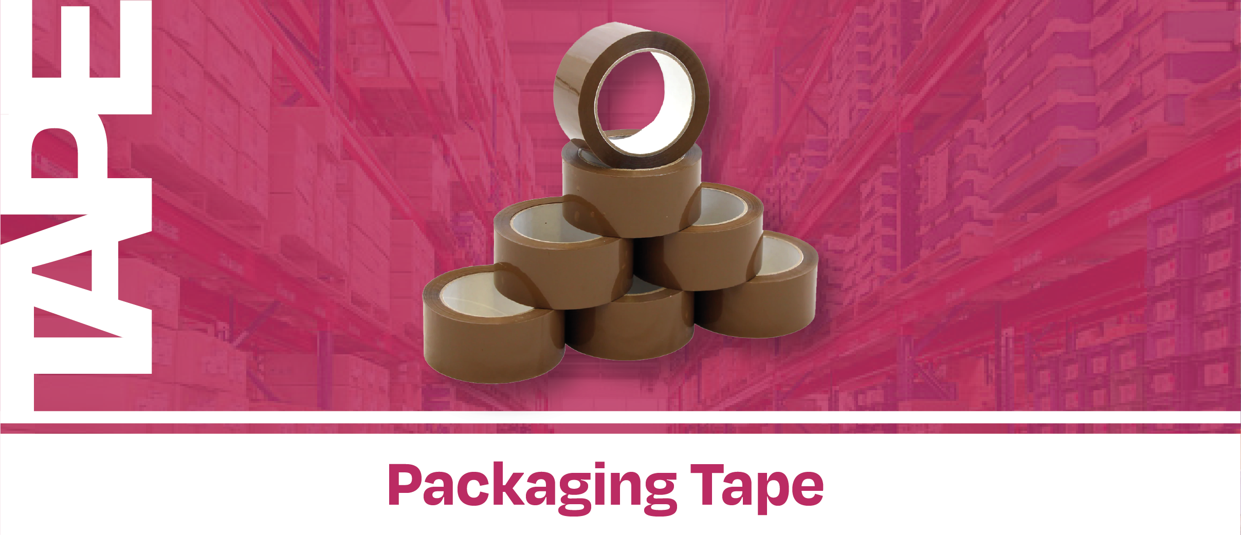 Box of Tape 36 Rolls Clear
